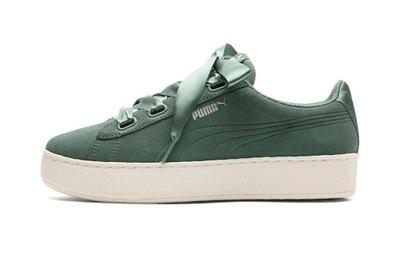 PUMA (38) PLATFORM RIBBON S buty damskie zielone