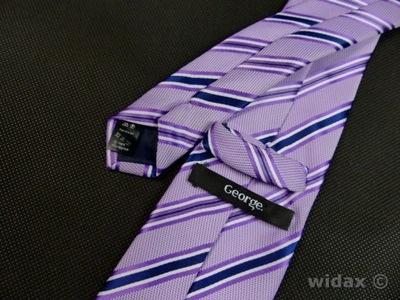 AAK39 Elegancki krawat męski GEORGE