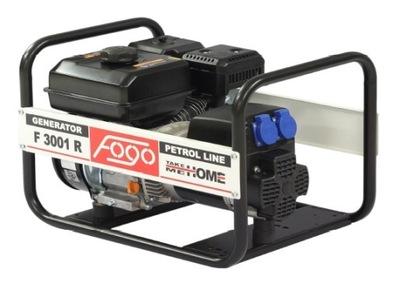 Generátor, príslušenstvo pre generátor - FOGO F 3001 R Elektrický generátor !!!