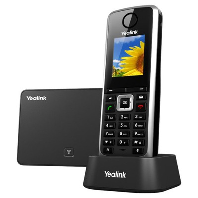 Telefon bezprzewodowy IP VOIP DECT Yealink W52P