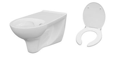 WC misa - CERSANIT BOARD PRE ČISTÉ ČISTENIE NA ČIERNY