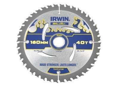 IRWIN пила круглая диск ??? ДЕРЕВА WT 160x20x40z