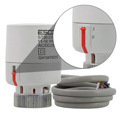 VALEC na podłogówki elektromagnetický ventil 230 V, NC M30x1,5