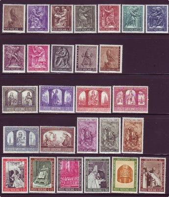 Ватикан год выпуска 1966 Мне. 490/516 компл. чистые **