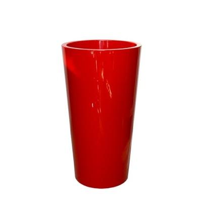 włoska donica + wkład TUIT 40/75 czerwone donice