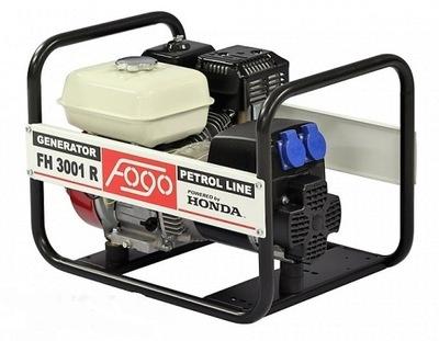 Приводимый в действие генераторная установка ФОГО FH3001R AVR 230 Honda