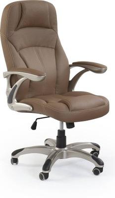 kancelárske Stoličky CARLOS svetlo hnedá hojdacia stoličky