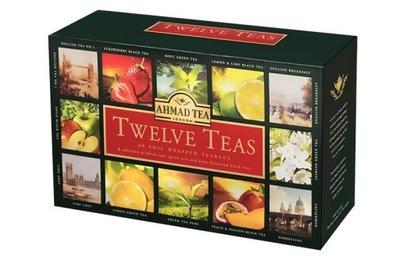 Ахмад Twelve 12 Вкус ОСОБЕННЫЙ комплект Чай