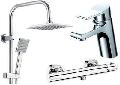 Sprcha - SPOTREBNÝ MATERIÁL + BATÉRIE TERMOSTAT + KUCHYŇA na umývanie