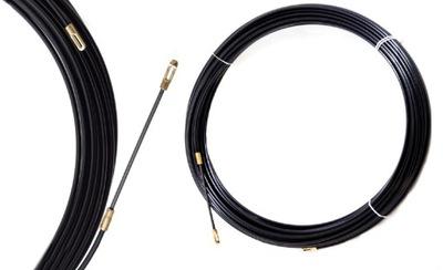 Трос , зонд, пульт ??? прокладывая кабелей 15м