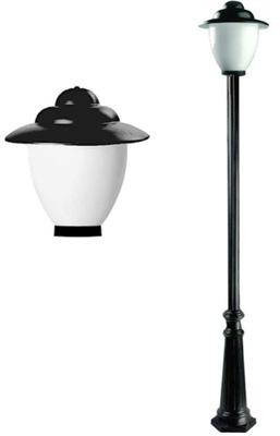 Лампа ??? сада лампы садовое прочной Рондо 215 см
