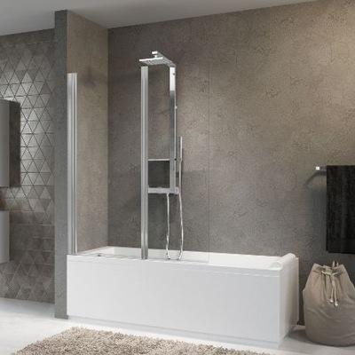 Sprchové dvere - NOVELLINI AURORA 2 vaňa, chróm, kabína