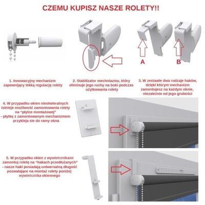 Солнцезащитная Мини-50x150cm акция Жалюзи на размер доставка из Польши Allegro на русском