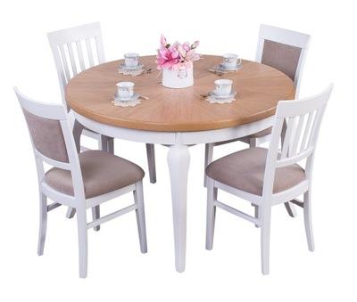 стол круглый подробнее деревянный ср 120см раскладной