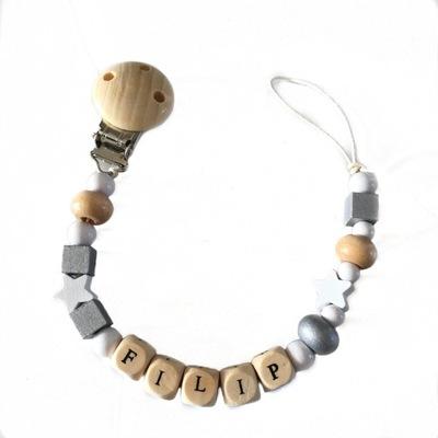 Ostatné detské šperky - Prívesok pacienta s menom NOVÉ DESIGNY!