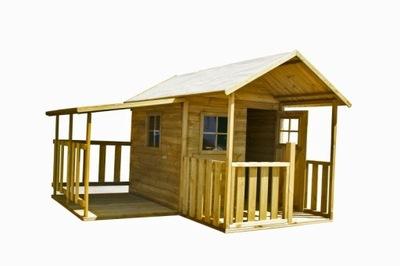 Drevený dom pre deti, Blanka s Garážou 4iQ