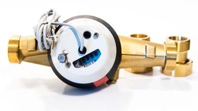 """POWOGAZ vodomeru DN32 11/4"""" rotačná tlačidlo pulz generátory"""