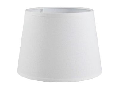 Abażur biały do lampy  E14  15/19/14 tkanina
