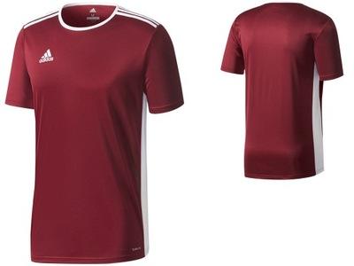 84854adc6f362 Koszulka sportowa ADIDAS Climalite Piłka nożna 134 - 7163924993 ...