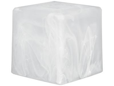 АБАЖУР квадрат корпус E27 для ЛАМП 10х10 см стеклянный