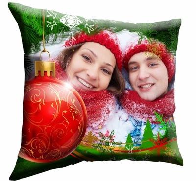 ФОТО подушка с ЗАМЕНОЙ рисунком подарок 40х40