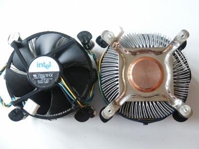 Chłodzenie Procesora INTEL 775 Miedziany rdzeń PWM