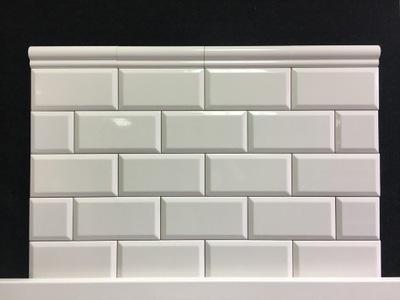 Płytka Gladka Biała 10x30 Cegiełka Jak Ikea Mat