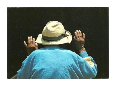 П / я. - F .Welman, Старика в шляпе войлочной основе
