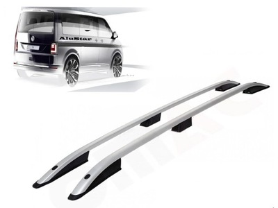 Relingi Samochodowe VW T5 T6 Srebrne KR