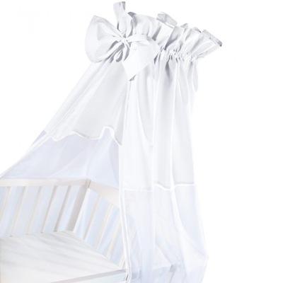 Baldachýn nad postieľku - BALDACHIM pre bielu bielizeň