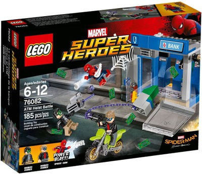 LEGO SUPER HEROES Walka o Bankomat 76082