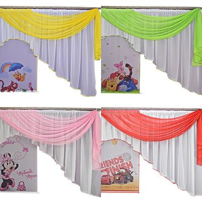 Záclona do detskej izby - DETSKÉ KOSTÝMY Minnie Kraina z Ice Sofia Cars