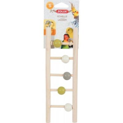 Zolux Игрушка для попугаев Лесенка с шариками 134017