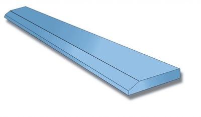Lemiesz do łyżki ostrze nóż 25x250 x1500mm HB500