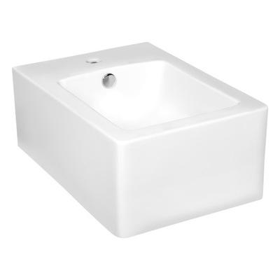 Závesné WC, bidet -  Bidet štvorcová biela Thor 15