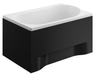KÚPEĽŇA pre malú kúpeľňu 110x70 + čierne bývanie