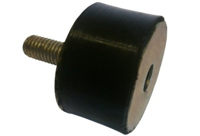 VANKÚŠ DRŽIAK GUMY UTLÁČANÍM M8 34x26 mm