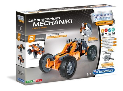 Laboratorium Mechaniki ŁAZIK QUAD 60954 Clementoni