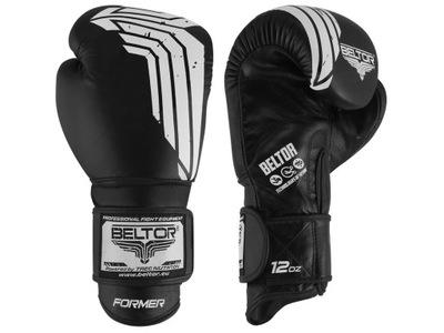 Beltor Bývalý Boxerské Rukavice Čierne 12 oz