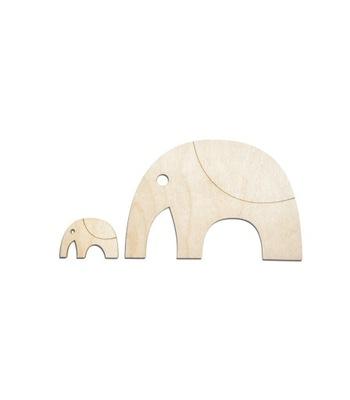 Слон пазлы - Уникальная scrapka Для ребенка