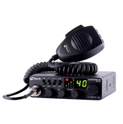 Radio CB M-TECH LEGEND II PLUS AM/FM + WTYK GRATIS