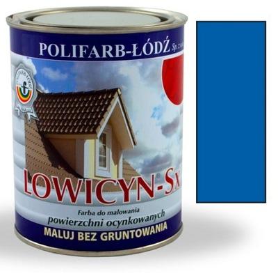 Lowicyn Sx farba RAL5005 MODRÁ SYG LESK 5L