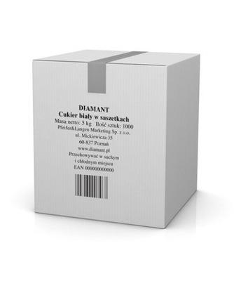 DIAMANT сахар Белый в пакетиках 1000 х 5 Г