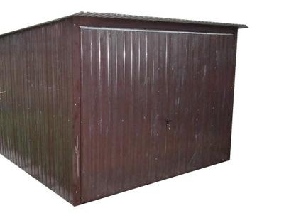 гараж железный Гаражи жестяные 3х5 ВОРОТА акрил