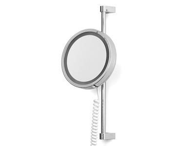 зеркало увеличительное x20 с лампа LED IP44 BATH24