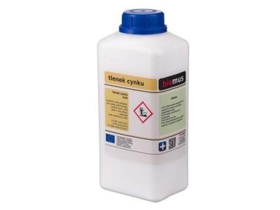 TLENEK CYNKU biel cynkowa czysty 1kg BIOMUS