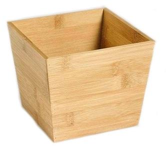 Бамбуковые Бамбук контейнер органайзер коробка