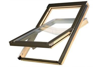 Okno dachowe KRONMAT Optilight B 134x98