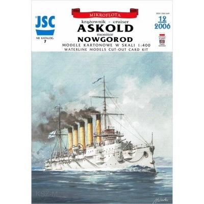 JSC-007 Rosyjski krążownik ASKOLD 1:400
