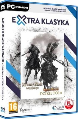 Mount Blade Warband + Dzikie Pola --- PL -- NOWA